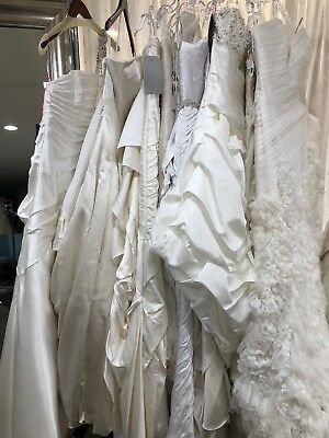 1, Lot Of 10 Sample, Fixer Wedding Dresses, Gowns