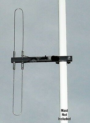 Folded Dipole Scanner Antenna for VHF Aircraft Airband 118-137 MHz , F connector