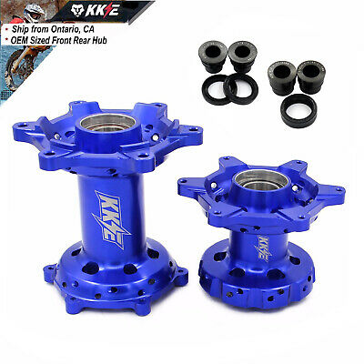 Front Rear Cnc Billet Hub Set Fit Ktm Sxf Xcfw Excr 125-530 250 300 350 450 Blue
