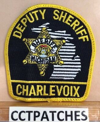 Charlevoix County, Michigan Deputy Sheriff (Police) Shoulder Patch Mi