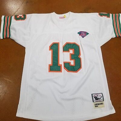 6767f1f4 norway mitchell and ness dan marino jersey miami dolphins 13 white ...