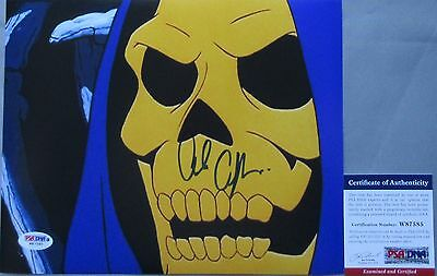 CLASSIC!!! Alan Oppenheimer SKELETOR Signed HE-MAN 8x10 Photo #2 PSA/DNA