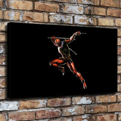 """12""""x22""""Movies Deadpool HD Canvas prints Painting Home Decor Wall art Poster"""
