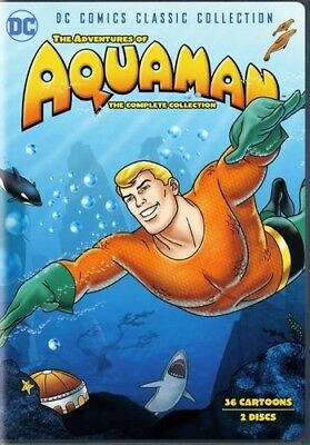 Adventures Of Aquaman: Complete Collection (2018, DVD NEUF)2 DISC SET