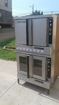 Blodgett Double Stack Gas Convection Oven, DFG-100 200 pizza kitchen