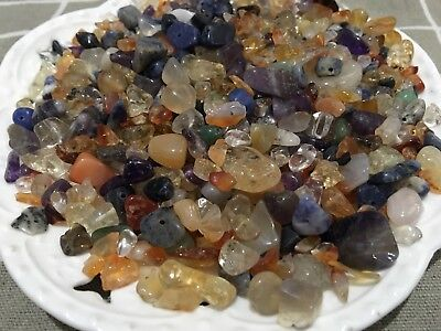 50g Mixed Natural Stones Gemstone Chips Jewelry Beads Jewellery Necklace Craft
