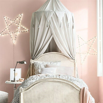 Child Baby Bed Canopy Netting Bedcover Mosquito Net Curtain Bedding Dome Tent Br