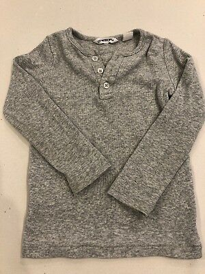 Country Road Baby Boys Henley Size 12-18 Months