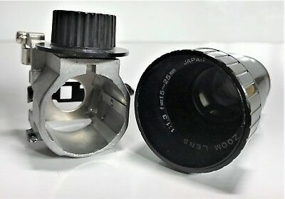 Elmo Super Zoom 8Mm Projector Lens 1:1.3 | 15-25Mm Suits Elmo St 1200 / Gs 1200