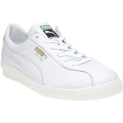 NEW MENS PUMA NATURAL WHITE BASKET CLASSIC CITI LEATHER Sneakers ... f92b7982f