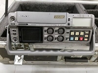 Sony Dsr-50 Portable Professional Field Vtr / Vcr Deck With Case