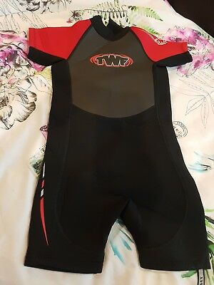 childs boys girls shorty wetsuit. around age 2 to 3 never worn