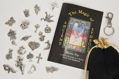The Magic of Ancient Symbols by Marion Voy - alternative to Angel Cards or Tarot