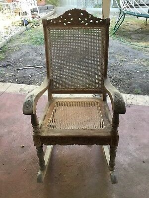 Vintage Rocking Chair as Is