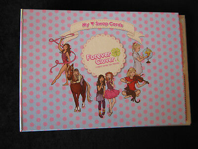 """Forever Clover, """"my Swap Cards"""" Album With 20 Cards"""