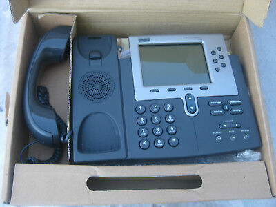 CISCO CP7960 7960G 6-line SIP phone for Asterisk with power adpater