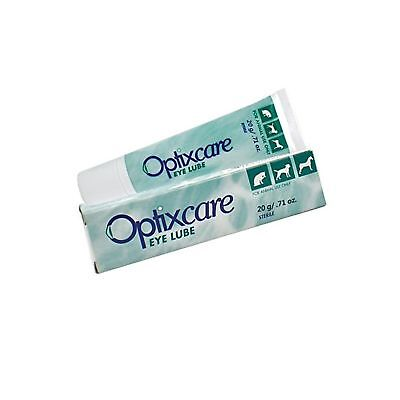OptixCare Pet Eye Lube Lubricant for Dogs & Cats 20 Gram 1 Pack