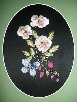 Embroidery  and Stumpwork kit-Needlewoman Studio- Adonis Blue