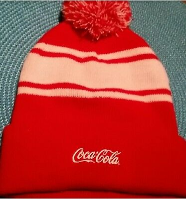 Coca Cola  Hat Knit  family one size
