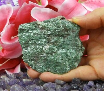 118g Sparkly Natural Fuchsite Stone Healing Crystal
