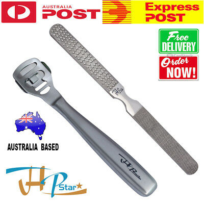 Foot care kit Foot File Pedicure Hard Dry Skin Cuticle Callus Remover + 10 Blade