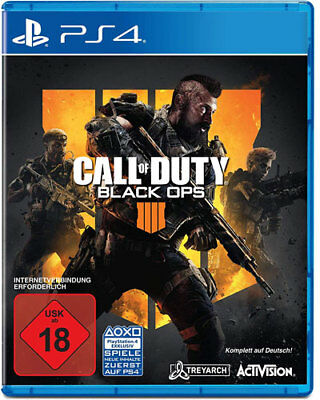Call of Duty: Black Ops IV (Sony PlayStation 4, 2018)