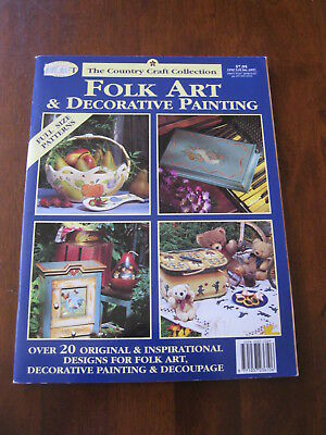 The Country Craft Collection: Folk Art & Decorative Painting: 1994   Preloved