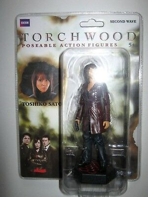 """Dr Doctor Who Torchwood Toshiko Sato  5"""" Figure.new On Card.second Wave."""
