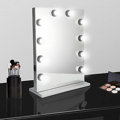 Chende silver Hollywood Makeup Vanity Mirror Light Stage Large Beauty Dimmer MAX