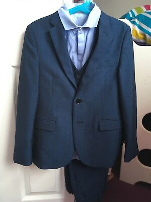 Boys Blue Next Suit Age 9 Years