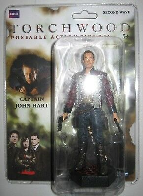 """Dr Doctor Who Torchwood   5"""" Figure.new On Card.first  Wave."""
