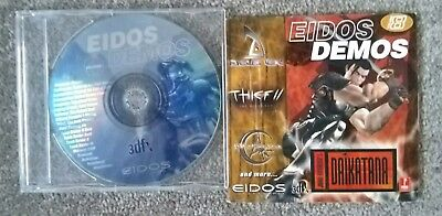 Old EDIOS Demo Games CD for 3Dfx Graphics