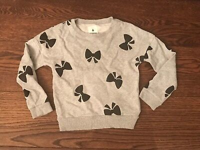 Country Road Girls Jumper Sweat Top - Bow Design - Size Age 7 - Rrp $70