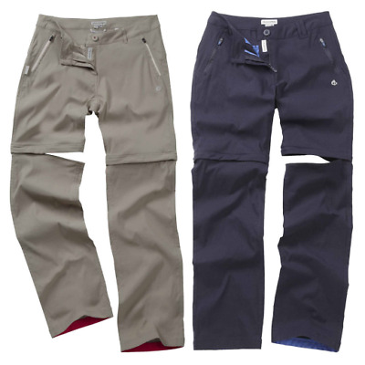 Craghoppers Ladies Kiwi Pro Stretch Zip Off Trousers