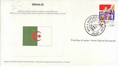 Algeria - World Cup Soccer, Spain '82 (FDC) 1982