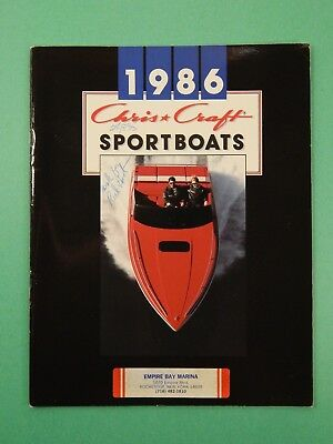 1988 CHRIS CRAFT brochure catalog FULL LINE Amerosport