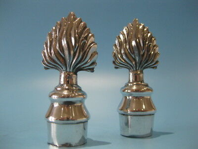 Stunning Elegant Pair of Antique Silver Plated Georgian Candle Snuffers