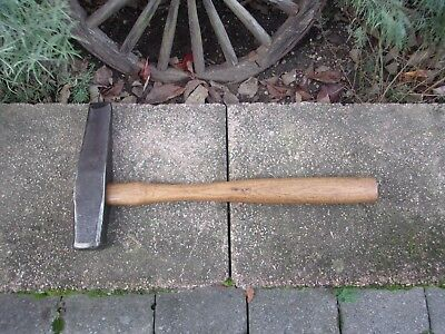 Vintage Blacksmith Hammer With Makers Mark