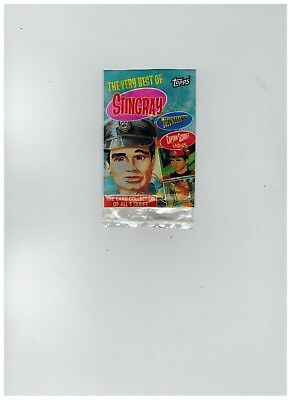 Topps,The very best of Stingray,Thunderbirds & Capt.Scarlet Wrapper 1993