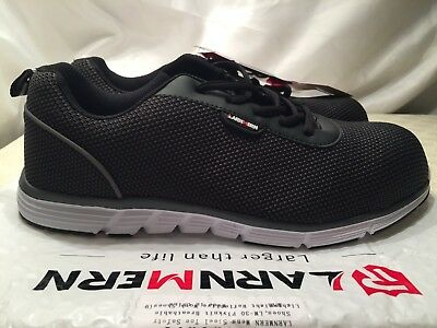 14392098c77 LARNMERN MENS STEEL Toe Safety Work Trainers,LM-30 Flyknit UK 9 / EU 44 RRP  £70