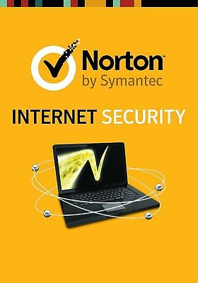NORTON  INTERNET SECURITY 3.0 2018 / 2019 1 Gerät / 1 Jahr PC / Windows