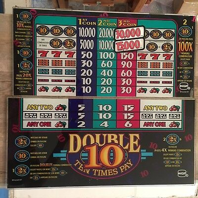 IGT S Plus Double Ten Times Pay Game Kit