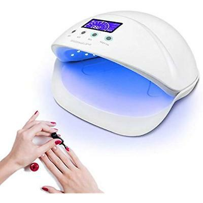LED UV Nail Dryers Light Quicker Harden Shellac Lamp 50W Curing For Gel Polish