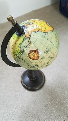 Table Top Spinning Globe