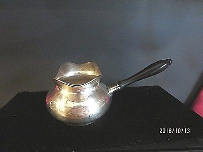 Vintage Sterling Silver  Two Sided Gravy Boat