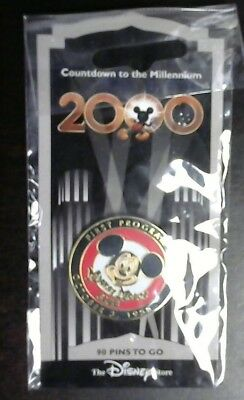 Disney Store Countdown To The Millennium Pin #91 Mickey Mouse Club First Aired