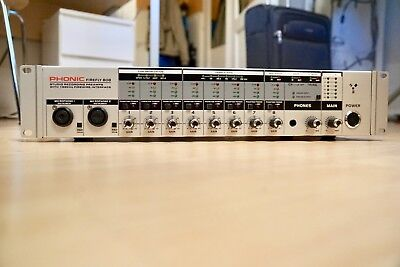 Phonic Firefly 808 Audio-Interface FireWire, 8 Kanäle I/O