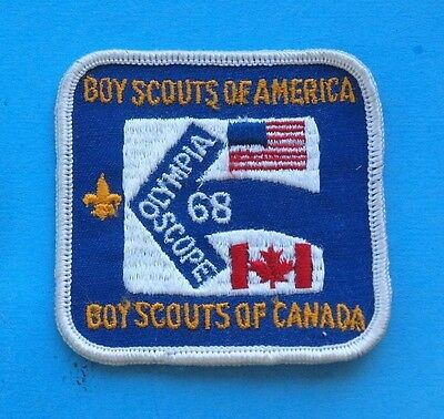 1968 OLYMPIA SCOPE  BSA - CANADA - PACH   BOY SCOUTS   a188