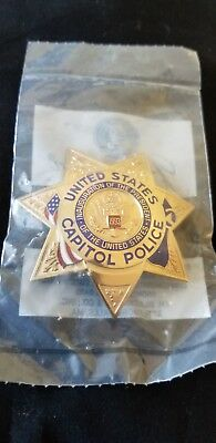 US Capitol Police 1993 Inaugural Badge Washington DC New In Package.