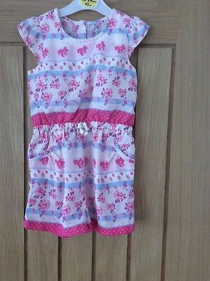 Girls playsuit aged 2-3 years